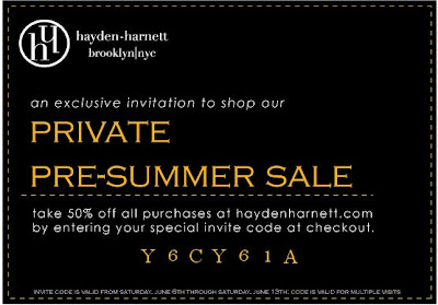 hayden+harnett+coupon Hayden Harnett Private, Pre Summer Sale: Take 50% Off!