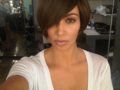 kim kardashian makeup routine. kim kardashian makeup lesson.