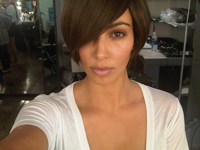 kim kardashian hair. kim kardashian hair color.