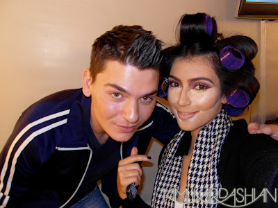 kim+kardashian+and+mario Interview With Mario Dedivanovic, Kim Kardashians Makeup Artist!