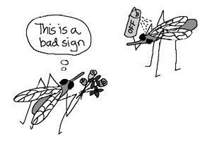 mosquito+dating Eau de Off