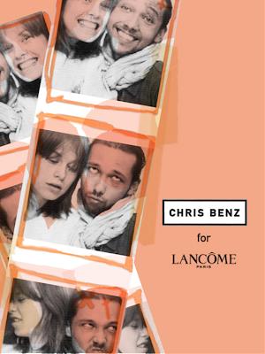 Chris+Benz+contest+photo Lancôme Pout à Porter Lipstick Series Is Back!