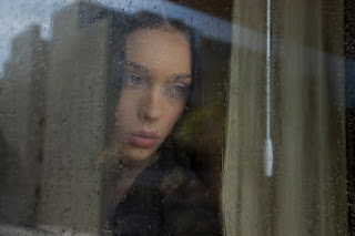 woman+rain+window Blame It On The Rain