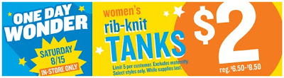 old+navy+ribbed+tank+promotion Old Navy Tanks For $2: One Day Only!