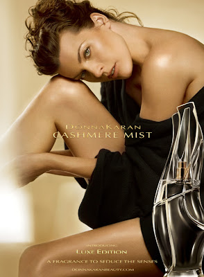 donna karan cashmere mist ad Do You Smell What The Karan Is Cooking?