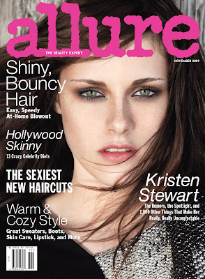 Allure+Magazine+November+2009+Cover+Kristen+Stewart Kristen Stewart is Allure Magazines November 2009 Cover Girl