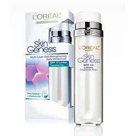 loreal+skin+genesis+spf+15 Five Ways To Sneak SPF Into Your Beauty Routine This Winter