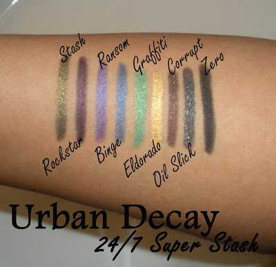 Urban Decay 24 7 Super Stash Urban Decays 4 Limited Edition Eye Pencil Shades Now Available in Full Size!