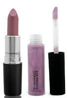 mac+syrup+lipstick+and+foolishly+fab+plushglass Lavender Lip Trend