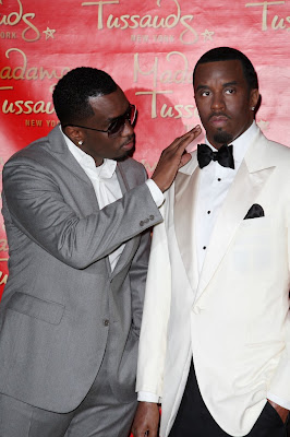 diddy+wax+figure Diddys New Wax Figure Even Smells Like Him!