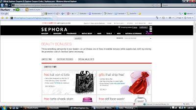 sephora+beauty+bonuses+page Sephora.com Beauty Bonuses Page