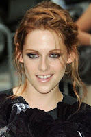 NIGHT: Abergel created a soft and romantic braid for Kristen Stewarts ...