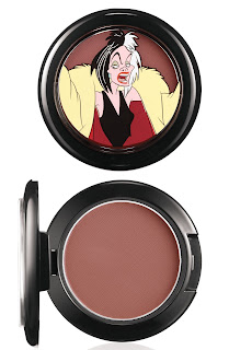 VenomousVillains Cruella PowderBrush DarklyMyDear 300 MAC Venomous Villains