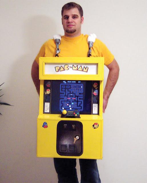 PacMan-Kostüm zum selber machen