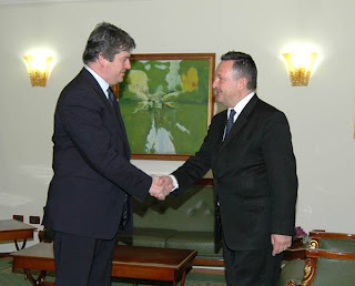 Presidente Albania incontra secretario Unwto turismo Francesco Frangialli