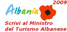 Scrivi al Ministro del Turismo Albanese
