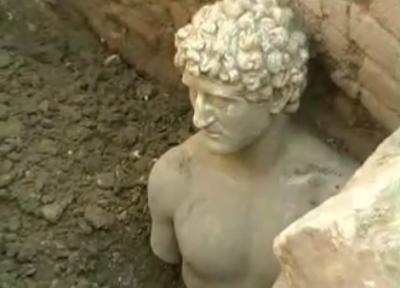 Scoperta ad Apollonia una statua Romana