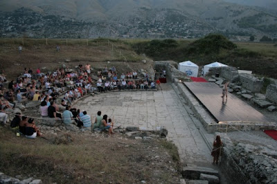 Innaugurata la riscoperta del teatro romano in Albania.