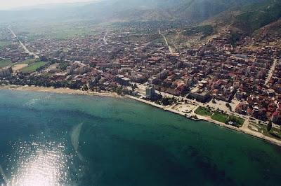 Il lago di Ocrida (Ohrid) è antico di 4 milioni di anni.