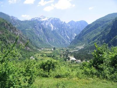 Parco nazionale di Theth ,nel nord Albania
