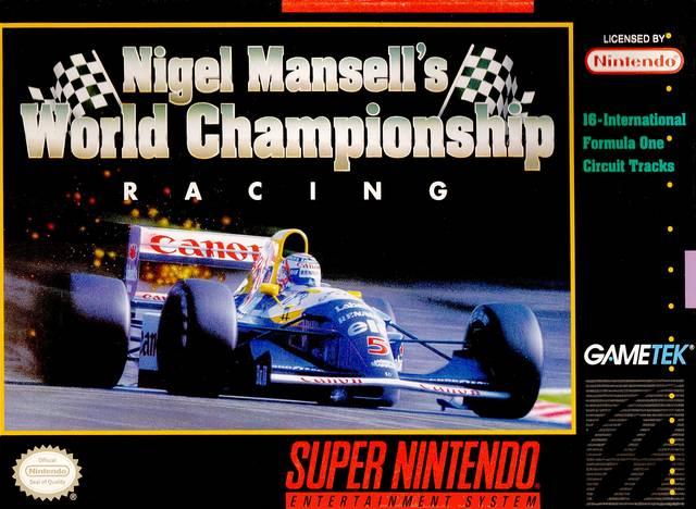 Resultado de imagem para Nigel Mansell's World Championship