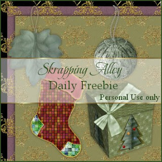 http://skrappingalley.blogspot.com/2009/11/daily-freebie-xmas-papers-leaf-and.html