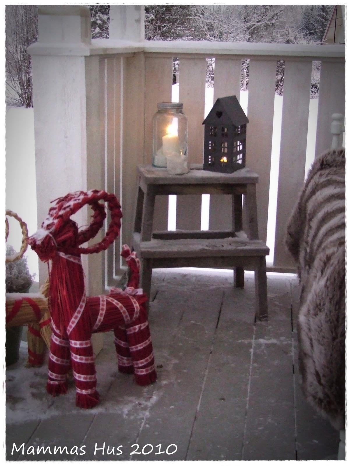 Mammas hus: jul på trappa