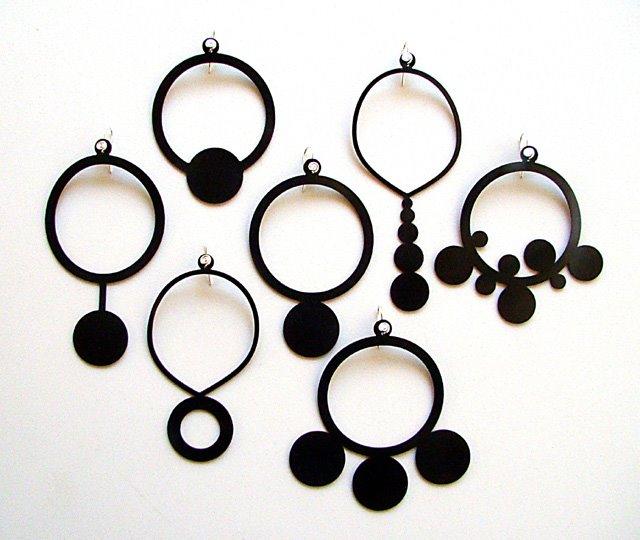 joias de borracha, rubber jewellery, rubber earings, designtun,tun, brincos de borracha