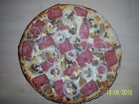 Pizza Carbonara al estilo Voy Volando