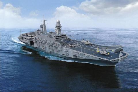 Onore e fedelta 39 pronta la nuova portaerei cavour - Nuova portaerei ...