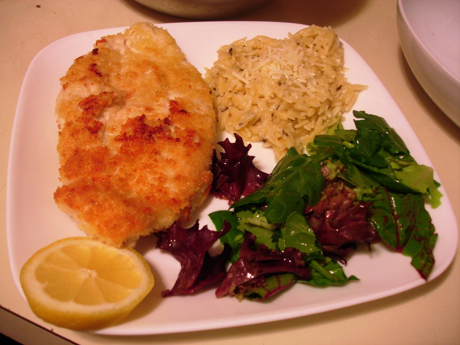 Simply Delicious Everyday: Recipe: Chicken Milanese with ...