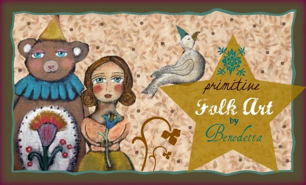 Primitive Folk Art by Benedetta