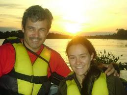 Alvorecer no Pantanal