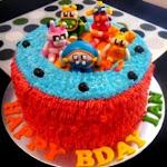 Animal Mechanicals cake