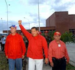 Inauguración de Nuestyro Hospital por parte del Presidente de la Repúbluica  Hugo Rafael Chávez