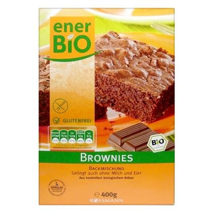 enerBIO Brownie Backmischung