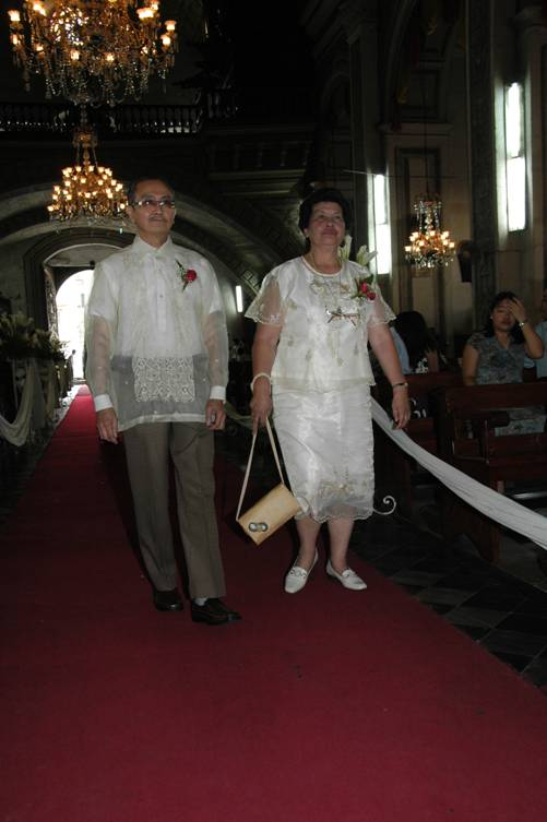 Wedding Dresses For Ninang : Wedding sponsors there in a place called shaira s bridal was