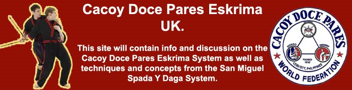 Cacoy Doce Pares Eskrima UK