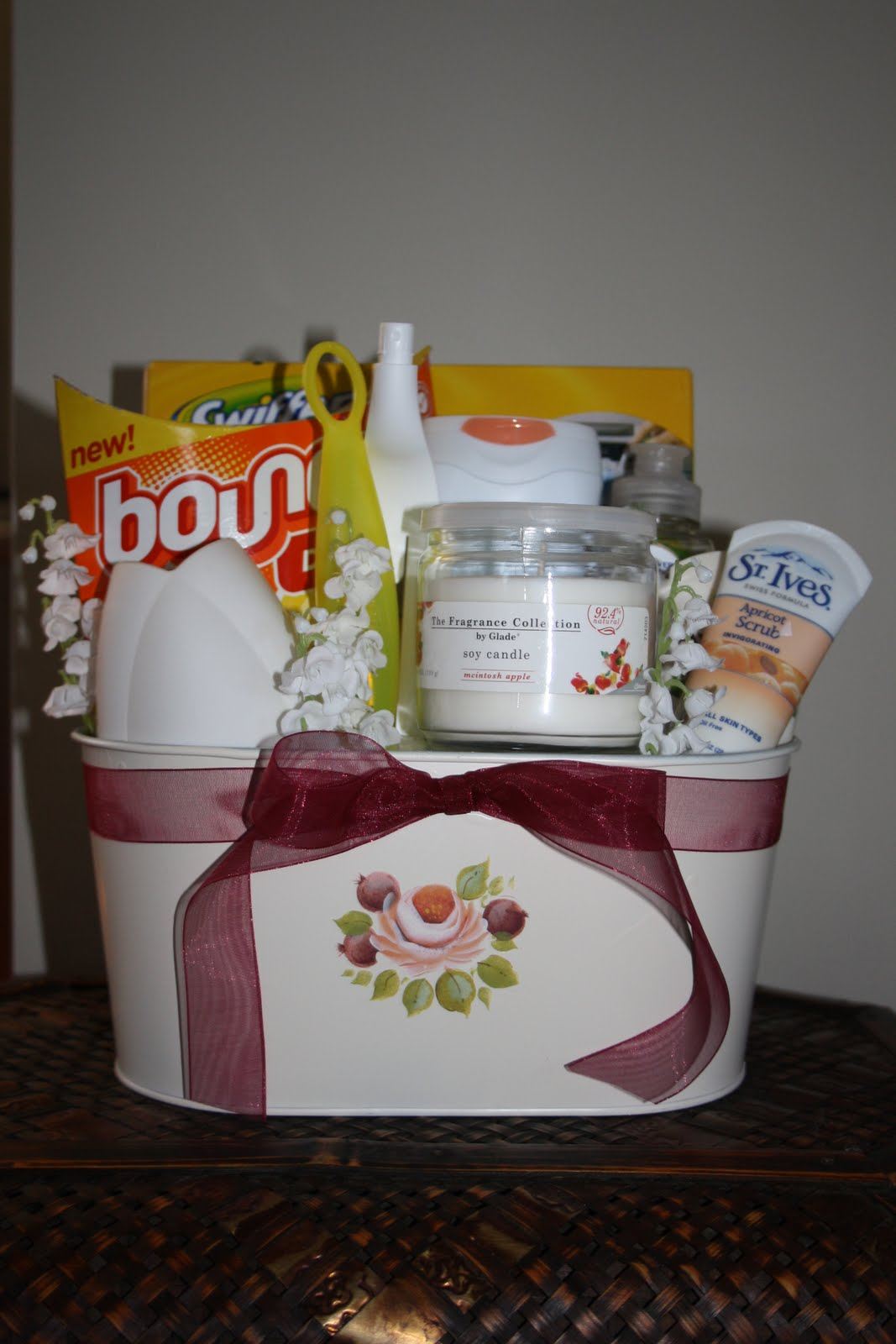 Homemade Basket For House Warming Just B Cause