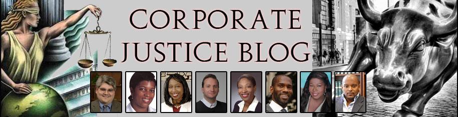 Corporate Justice Blog