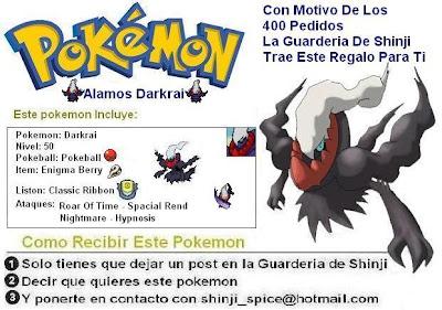 Pokemon D/P/Pt - Como obtener Pokemon de evento Darkraialamosb
