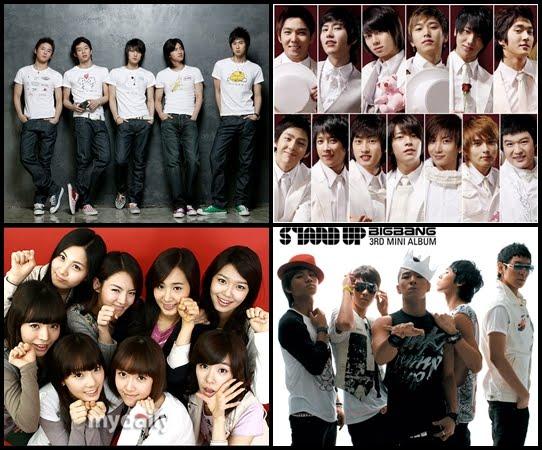 Top dos famosos coreanos com mais fãs 1234