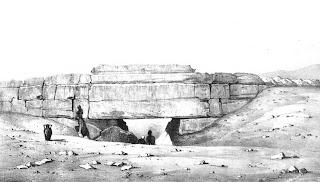 400 enterramientos en Giza : conferencia Atlanta Wall+of+the+crow+vyse+1840