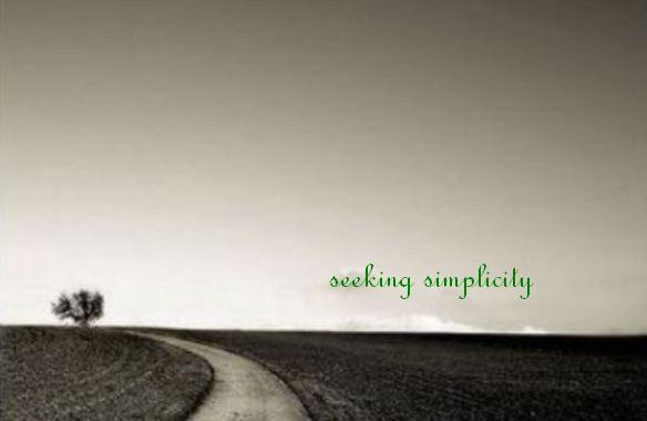 seeking simplicity
