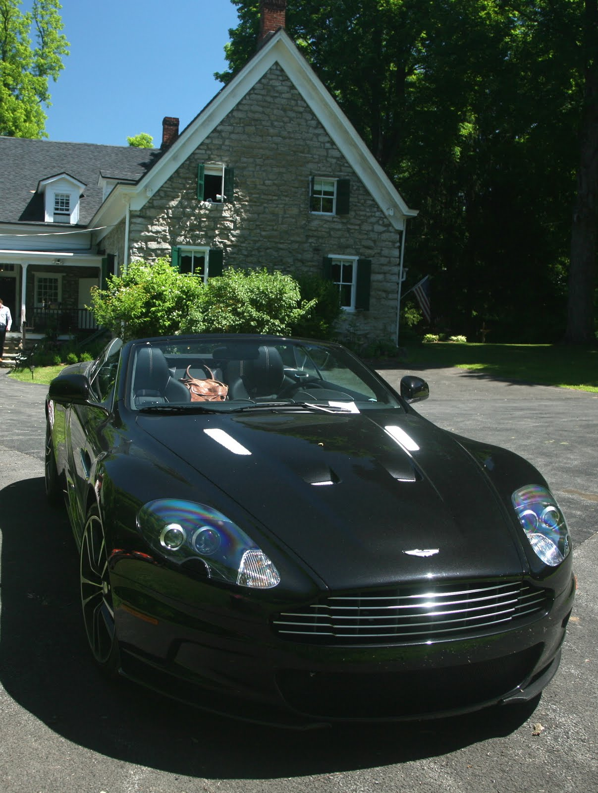 the stone house bed and breakfast an aston martin dbs. Black Bedroom Furniture Sets. Home Design Ideas