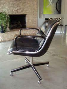 Itu0027s A Knoll Pollock Executive Chair.