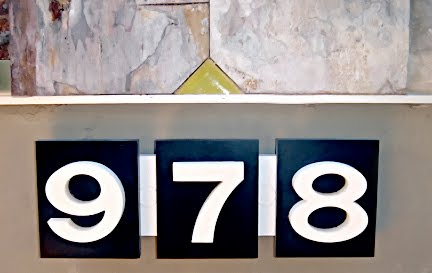 Mad for mid century eichler address numbers for Mid century modern address numbers
