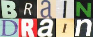 brain drain blocks letters