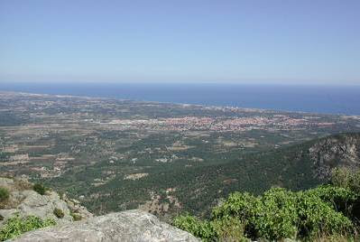 Mediterranean coast Perpignan