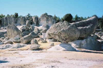 rock formations Mexico
